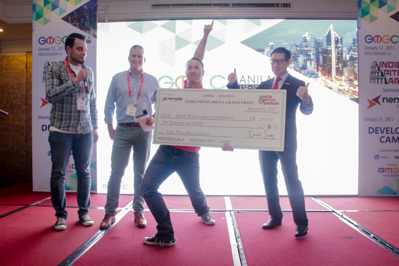 Indie Pitch Arena Winner